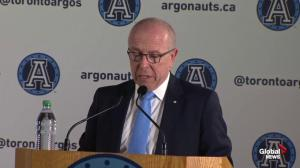 MLSE charman announces purchase of Toronto Argonauts