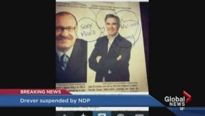 Alberta NDP suspends Deborah Drever from caucus