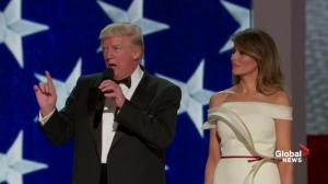 Trump Inauguration: 'we did it' – Donald Trump reflects on becoming president