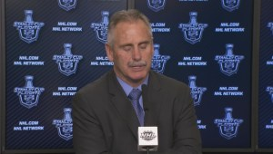 Canucks-Flames Game 2: Willie Desjardins postgame comments