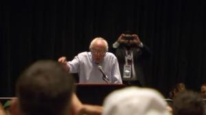 Bernie Sanders booed by his own supporters after asking them to vote for Hillary Clinton