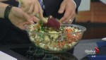 How to make a 30-minute lentil and mixed vegetable couscous salad