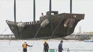 11 ghost ships containing decomposed bodies wash ashore in Japan