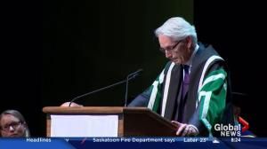 Peter Stoicheff marks first year as University of Saskatchewan president