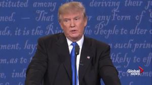 Presidential debate: Trump says Clinton 'doesn't have the stamina' to be President