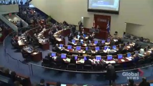 Toronto city council debates 2017 budget, approves 2% tax increase