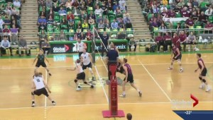 Saskatchewan Huskies downed by top seed at CIS men's volleyball championship
