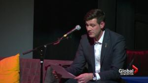 Mayor Don Iveson shares real tweets he's received for comedy show