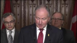 Minister of National Defence responds to fall AG report