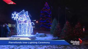 Pierrefonds-Roxboro Christmas tree lighting