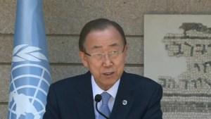Ban Ki-moon discusses Israel, Turkey reconciliation deal