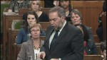 Mulcair: When did the PM decide to send troops into combat?