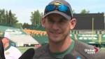 Edmonton Eskimos head coach Jason Maas has fighting words when it comes to 'City of Champions' slogan
