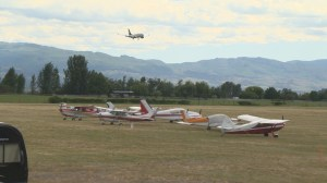 Dozens of private planes descend on YLW airpark