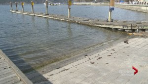 The Kelowna Yacht Club looking to the City to do maintenance work on a downtown boat launch after Queensway lake access was recently cut off