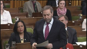 Blaney wants to know if Mulcair is listening to his C-51 response
