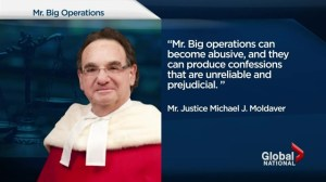 Top court ruling on controversial Mr. Big operations