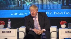 Boris Johnson under fire for comparing Francois Hollande to a WWII prison guard