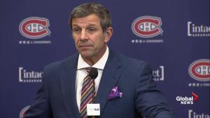 Meeting with players was not about Michel Therrien: Habs GM Bergevin