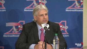 Montreal Alouettes GM Jim Popp calls Michael Sam signing 'a historic day for the CFL'