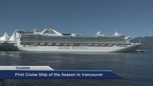 Vancouver welcomes first cruise ship of the year
