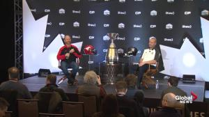 Grey Cup coaches answer the 'Jim Hunt Memorial Question' about sex before the game
