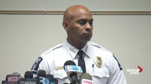 Charlotte police chief stands by the facts that there was a gun despite 'no definitive visual evidence'