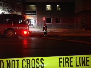Winnipeg Platoon Chief talks about school fire that sent one to hospital