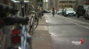 Three times the number of downtown residents cycle to work over the citywide average
