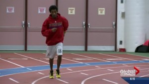 Community support helps Ethiopian transplant run in Nationals