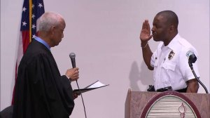 City of Ferguson swears in new police chief