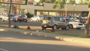 Raw video: Children hit by car in Laval