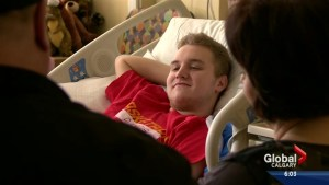 Calgary teen paralyzed after tobogganing accident