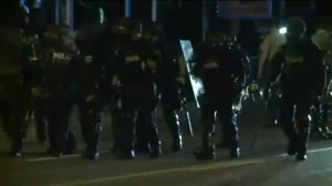 More protests and unrest in Ferguson, Missouri
