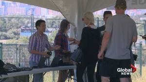 Festival goers line up for Chasing Summer amid Calgary police drug warning