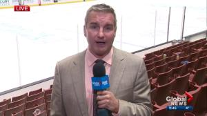 Kevin Karius offers post-game thoughts on Oilers