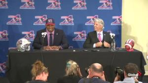 Michael Sam says he's focused on playing good football, not breaking barriers