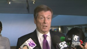 Mayor Tory opens Toronto's warming centres following death of homeless man