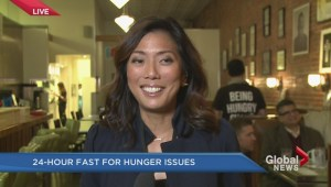 Sophie Lui takes part in 'Being Hungry Sucks' 24-hour fast