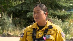 Steep terrain challenging for fighting Verdant Creek wildfire