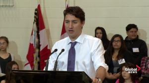 Justin Trudeau outlines his specific vision for a nation-to-nation relationship with First Nations