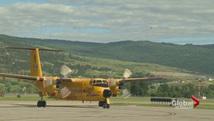 The search for a missing plane with two occupants continues between Kamloops and Cranbrook