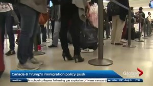 Will Trump's immigration policy push have an effect on Canada?
