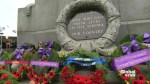 Highlights of Remembrance Day at Victory Square in Vancouver