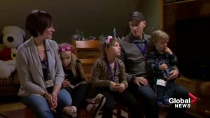 Goulden family celebrates important one year anniversary at Ronald McDonald House