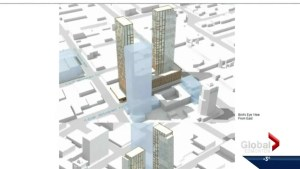 Two 51-storey towers planned for downtown Edmonton