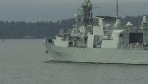 HMCS Calgary Celebrates 20th Anniversary