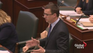 Two candidates left as Monte McNaughton drops out of PC leadership
