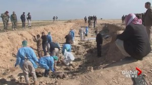 ISIS buried up to 15,000 bodies in mass graves in Syria and Iraq