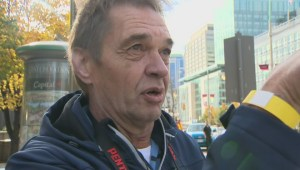 Witness describes hearing the shots and seeing gunman at war memorial